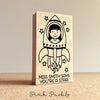 Personalized Teacher Stamp, Outer Space Themed Teacher Rubber Stamp - Choose Hairstyle and Accessories - PinkPueblo