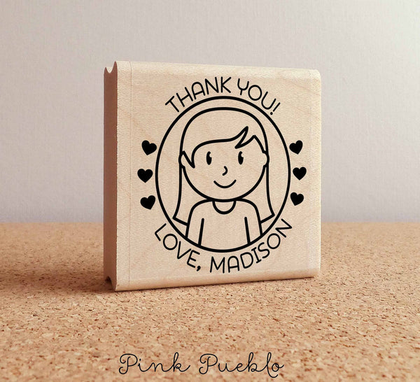 Personalized Children's Thank You Stamp