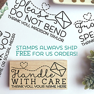 Stamps Always Ship FREE for US Orders!