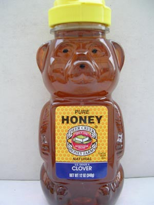Clover Honey Bear