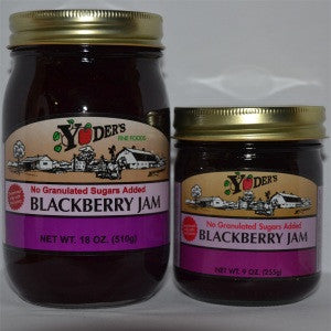 Sugarless Blackberry Jam