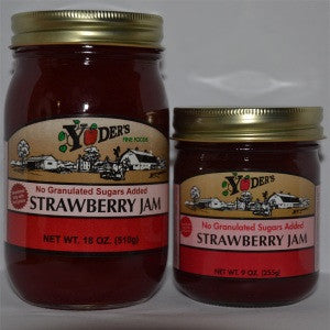 Sugarless Strawberry Jam