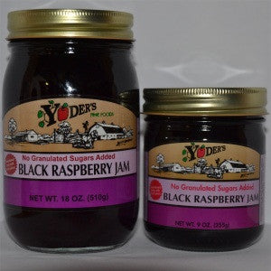 Sugarless Black Raspberry Jam