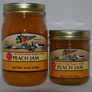 Sugarless Peach Jam
