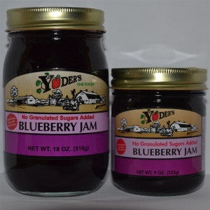 Sugarless Blueberry Jam