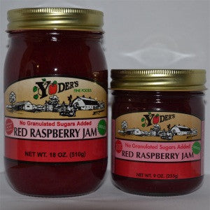 Seedless Sugarless Red Raspberry Jam