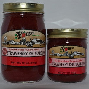 Sugarless Strawberry-Rhubarb Jam
