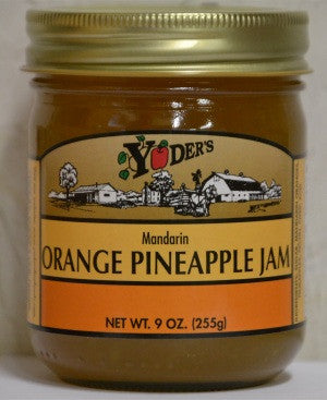 Orange Pineapple Jam