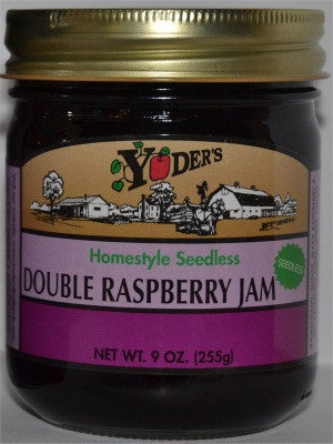 Seedless Double Raspberry Jam
