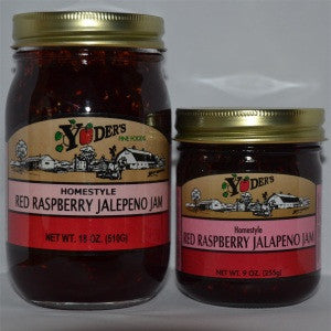 Red Raspberry Jalapeno Jam