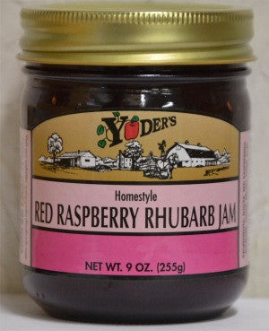 Red Raspberry Rhubarb Jam