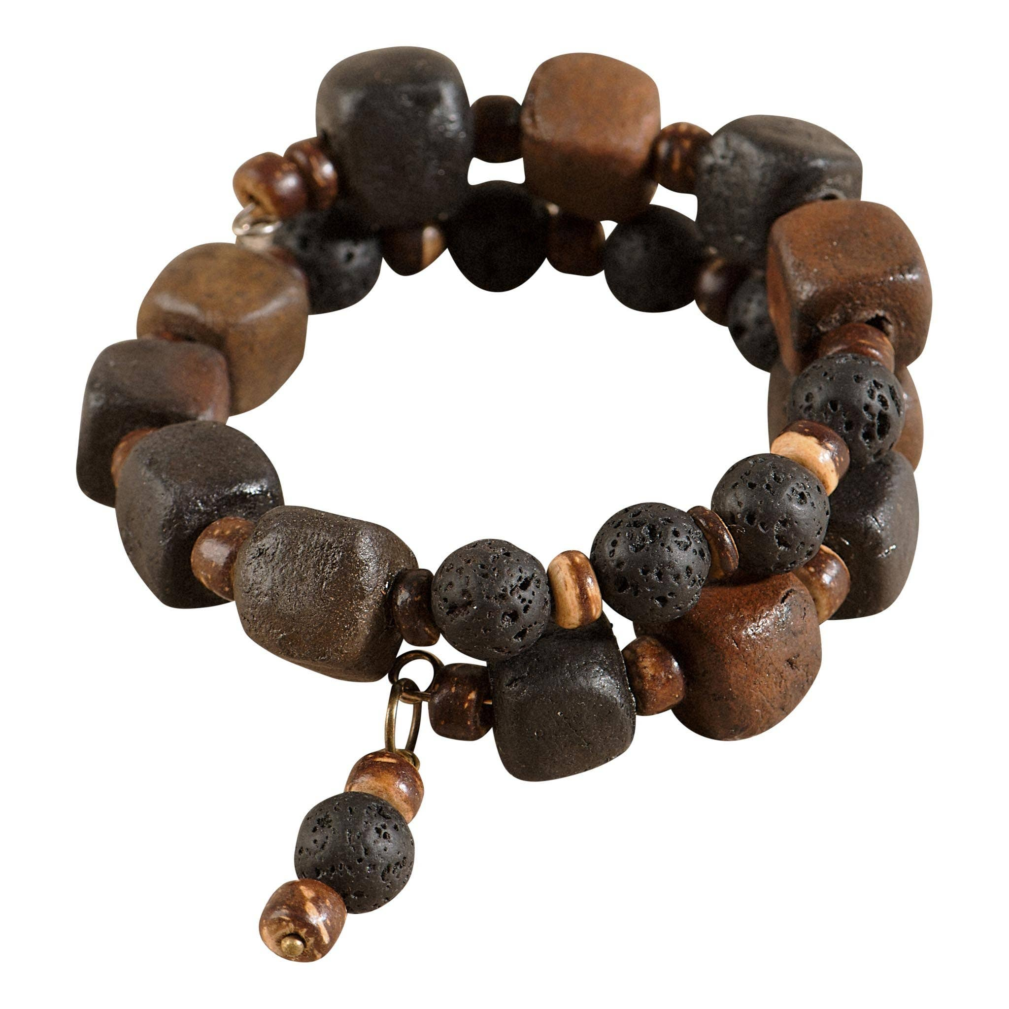 Lava Stone and Clay diffusing bracelet