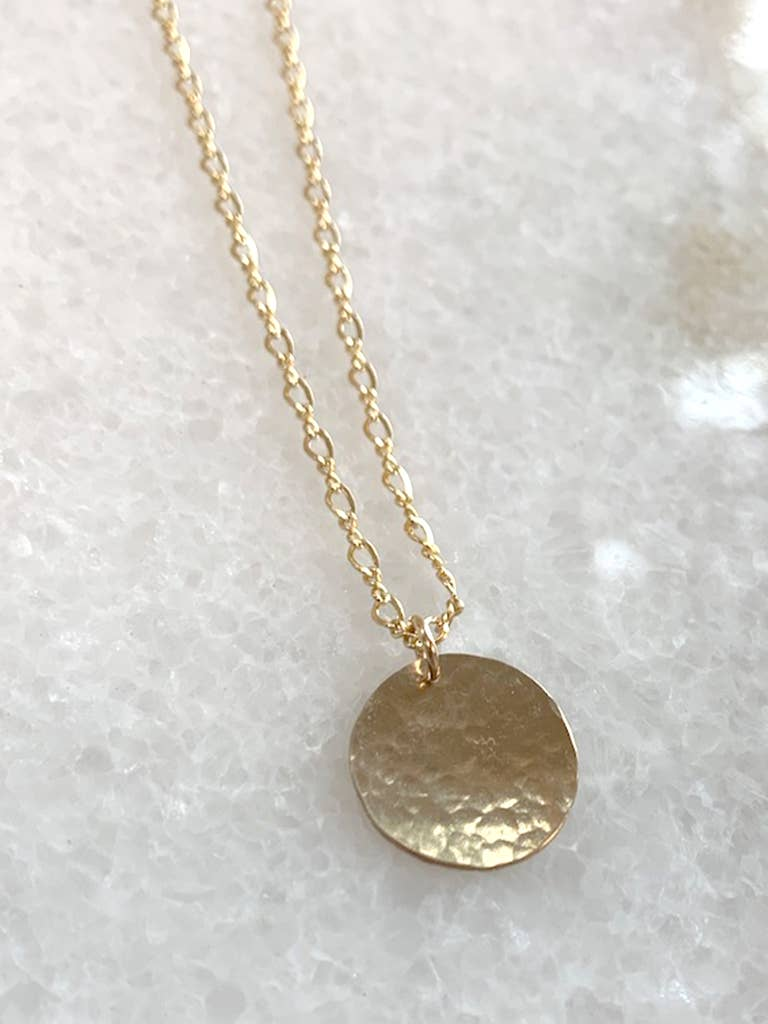 Stunner Coin Necklace 14k gold filled