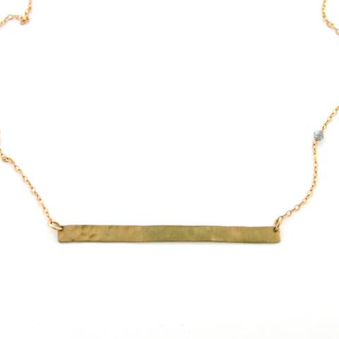 Jamison Straight and Narrow Necklace