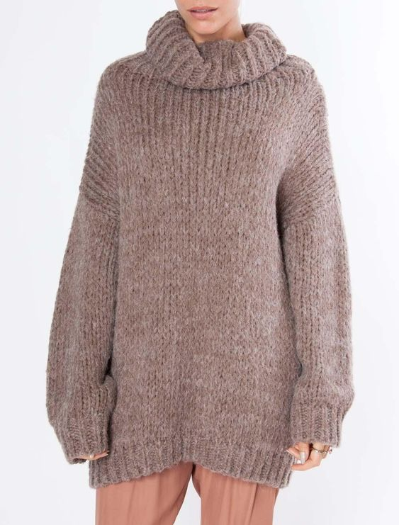 Kerisma One Size Turtleneck Sweater