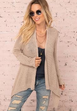 Wooden Ships Sienna Cardigan