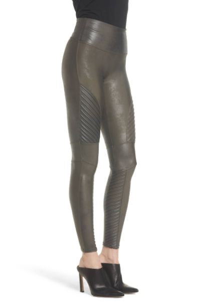 Spanx faux leather moto