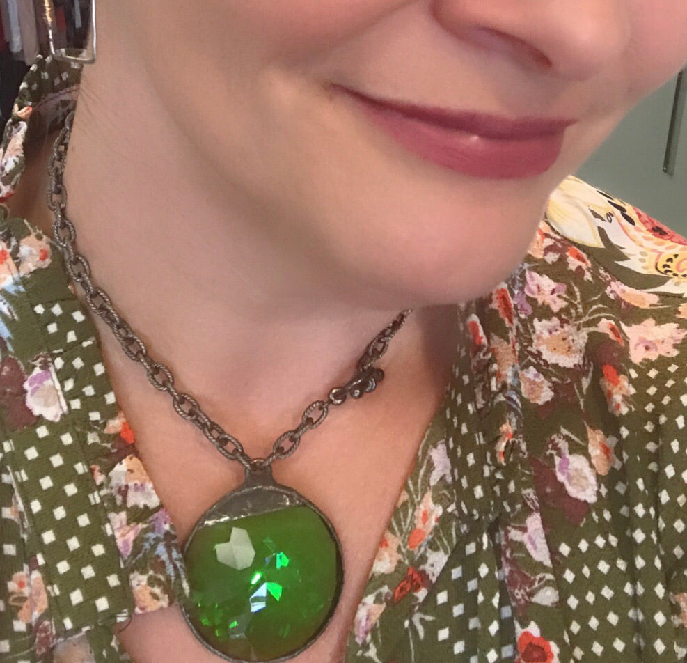 Ronda Smith Custom Crystal Necklace