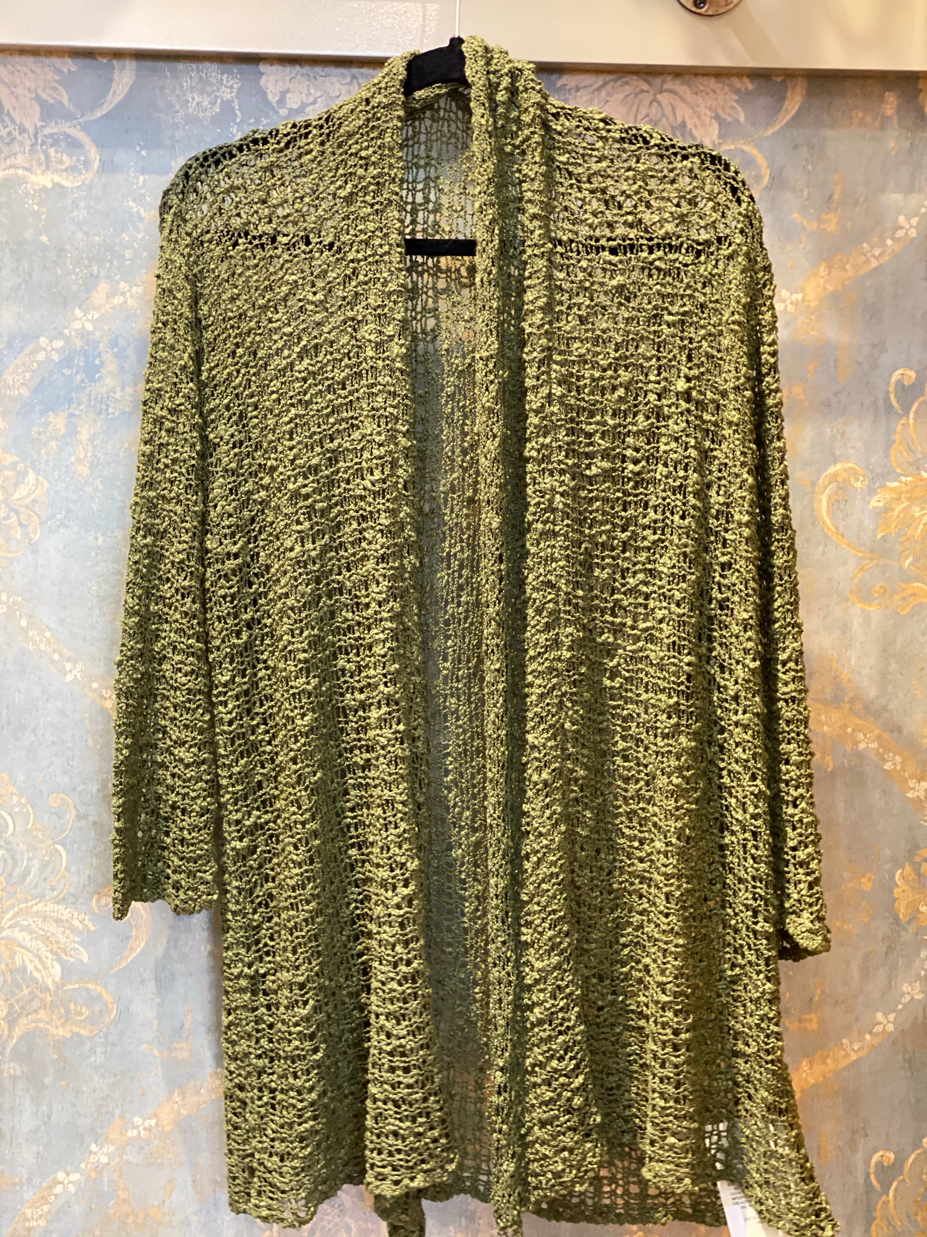 Lost River Popcorn Cardigan