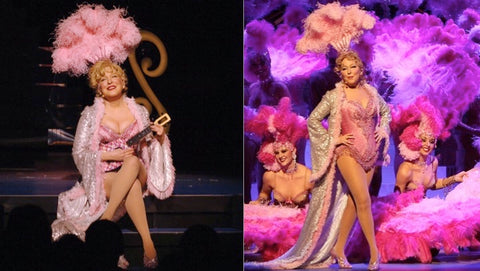 Bette Midler showgirl