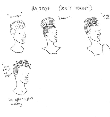 Hairdos (Don't Forget!)
