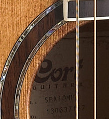 Cort SFX10 Acoustic Guitar Antique Brown - Lifetime Warranty