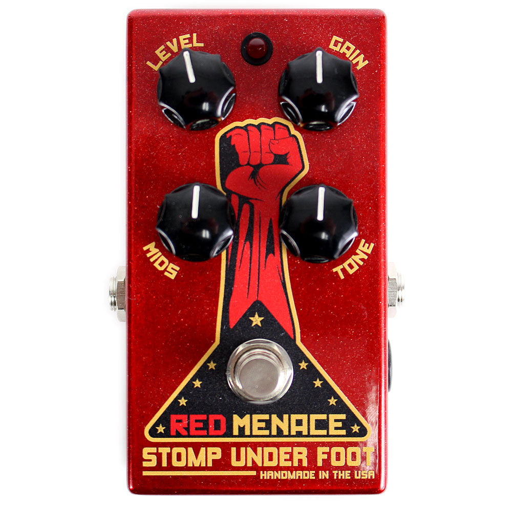 Stomp Under Foot Red Menace Fuzz