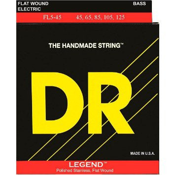 DR Legend Flat Wound FL5-45 Medium 5 String