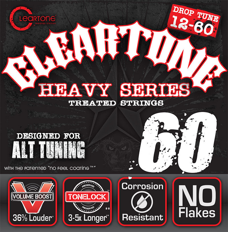 Cleartone Heavy Series Drop Tune 12-60