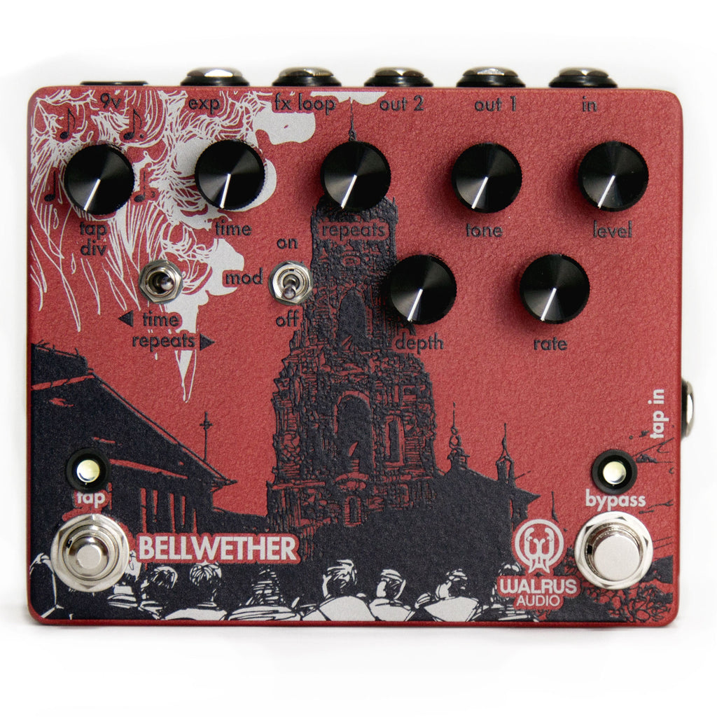 Walrus Audio Bellwether Analog Delay Guitar Pedal