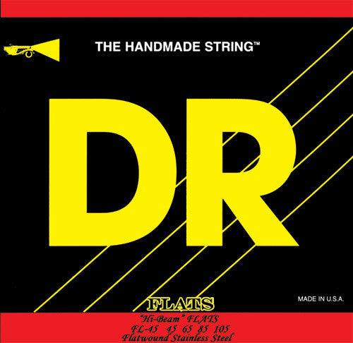 DR Legend Flat Wound FL-45 Medium 4 String