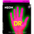 DR neon pink electric guitar strings 10-46