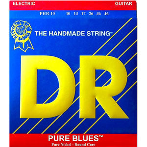 DR PURE BLUES Electric Guitar Strings 10-46