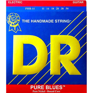 DR PURE BLUES Electric Guitar Strings 11-50