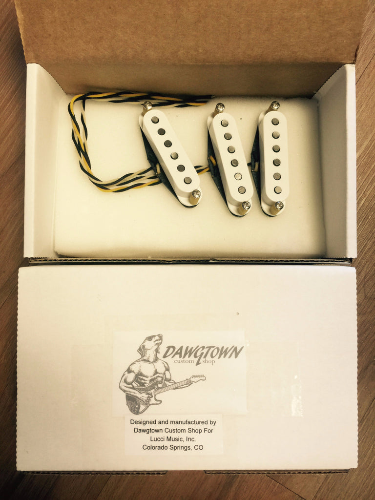 "Dawgtown Hand Wound Pups ""Single Coil Strat 5/2"""