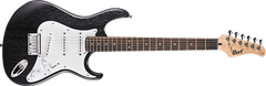 Cort G100 Open Pore Black Electric Guitar