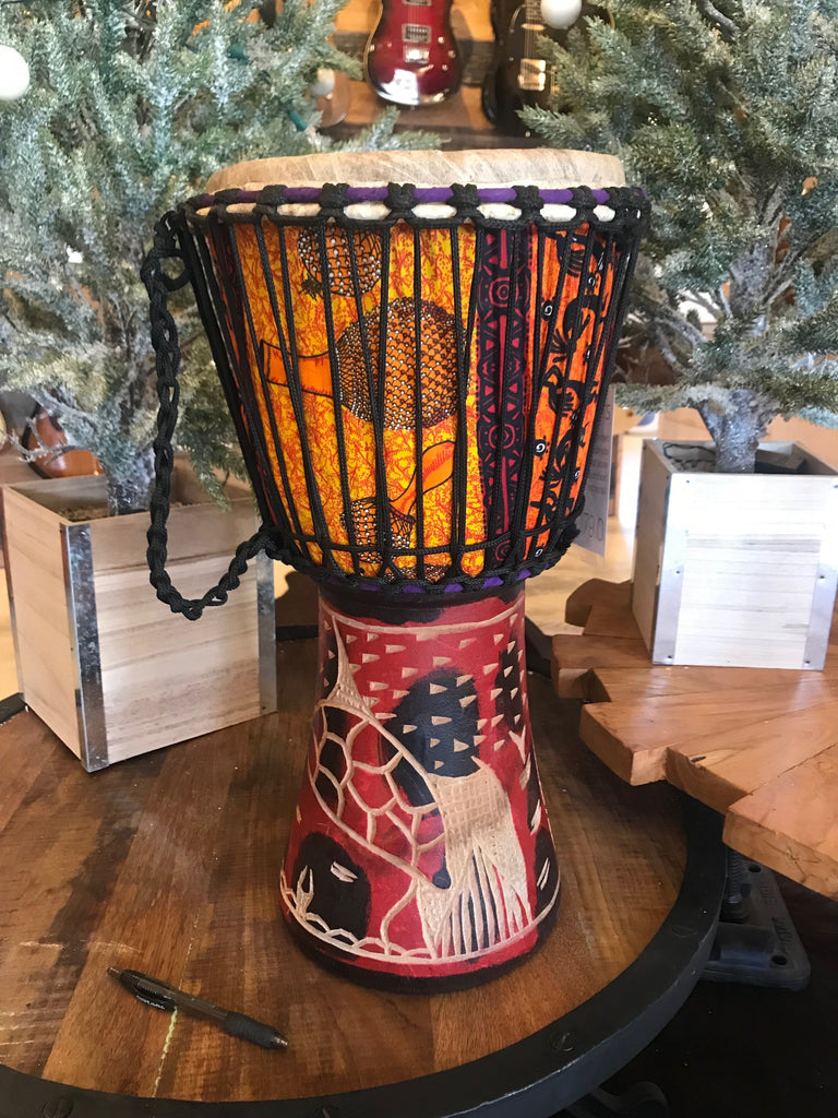 Authentic Arts Handmade Djembe