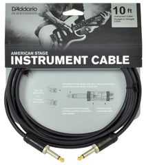 D'Addario Planet Waves American Stage Instrument Cable - 10'