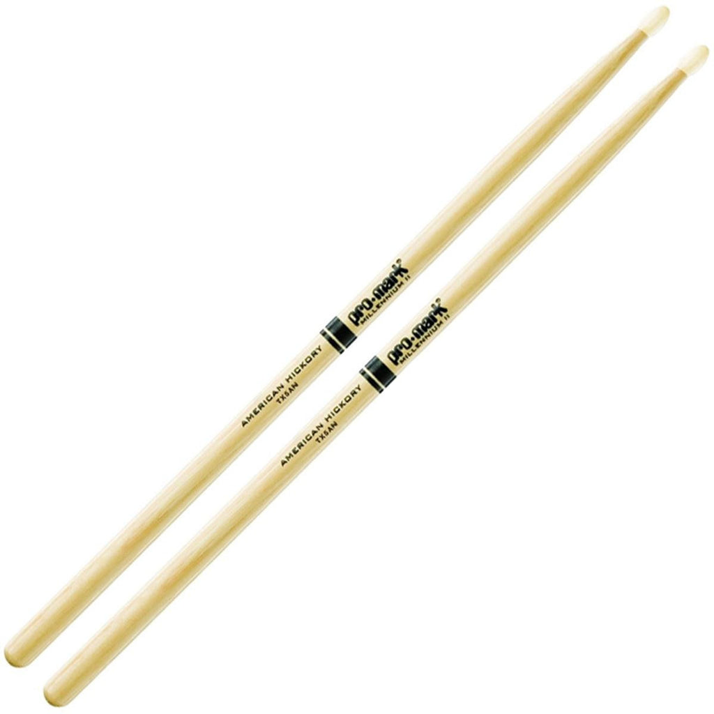 Promark Hickory 5A Nylon Tip Drum Sticks TX5AN