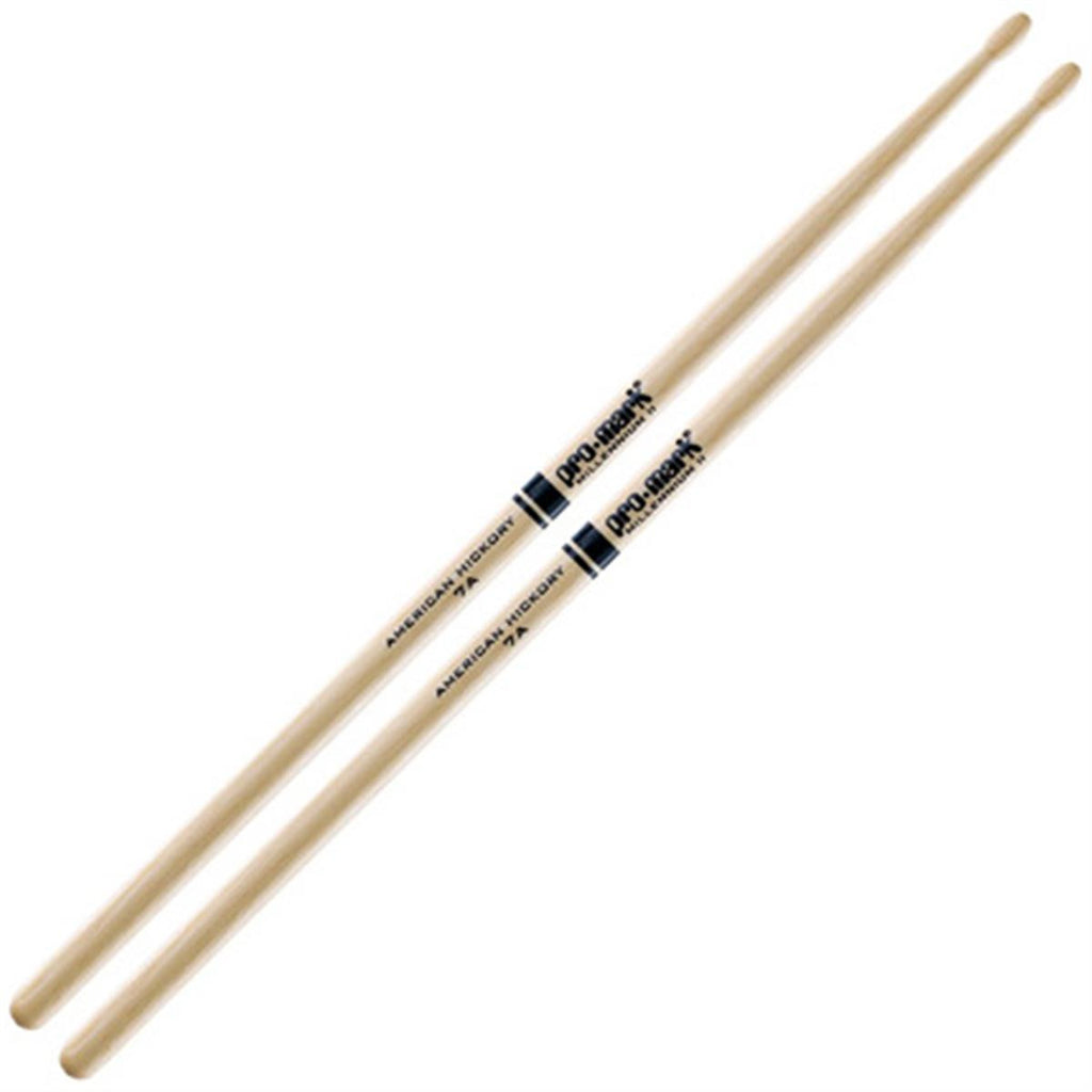 Promark Hickory 7A Wood Tip Drum Sticks