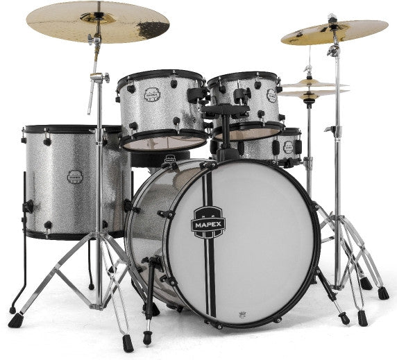 Mapex Voyager 5pc Drum Set With Cymbals