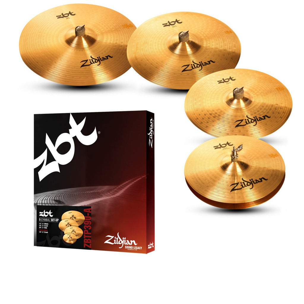 Zildjian ZBTP390-A 5 Cymbal Set w/ 18' Crash