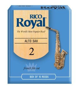 Rico Royal Alto Sax Reed #2
