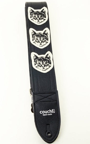Couch Guitar Strap Cat