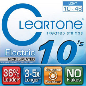 Cleartone Treated Electric Strings Nickel Plated 10-46