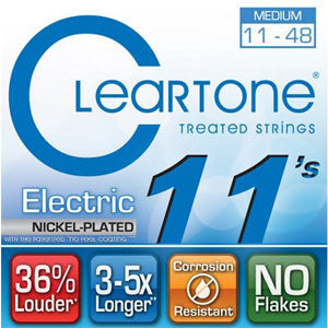 Cleartone Treated Electric Strings Nickel-Plated 11-48