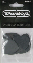 Dunlop nylon standard .73mm picks 12pk