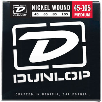 Dunlop Nickel Wound Bass string set 45-105