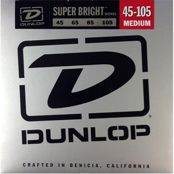 Dunlop Super Bright Nickel Bass string set 45-105