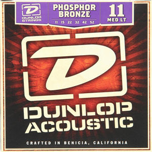 Dunlop Phosphor Bronze Acoustic Guitar Strings 11-52